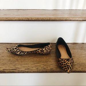 Maiden Lane Leopard Print Flats